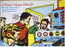 POWER PIN-UP Print - RICK JONES TEEN BRIGADE Vintage Art Marvel UK Dist Hulk