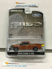 Greenlight * 2015 Ford F-150 * w/ Snow plow and Salt Spreader * Hobby Only