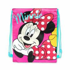 Girls Minnie Mouse Swim PE Sports Drawstring Bag