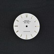 ROLEX Zifferblatt TRITIUM WHITE AIR KING 5500 DIAL Perpetual