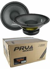 "2x 12"" PRV Audio 12W750A Pro Audio Woofer Loud Speaker 8 Ohm 1500W Car Audio"