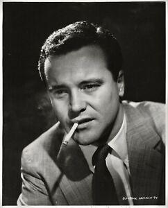 Jack Lemmon looks like a tough guy ~ ORIGINAL 1955 portrait by Cronenweth