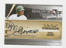 Mychal Givens AUTOGRAPH RC Baltimore Orioles 2011 In the Game L-MG AUTO Baseball