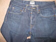 Edwin Indigo Cotton Mens Jeans 32 Waist 34 Leg Slim Leg W32 L34 32 Long