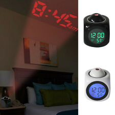Digital Projektionswecker Projektionsuhr Wecker Uhr Projektion Projektor Temp DE