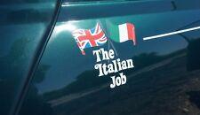 KIT COMPLETO ADESIVI  MINI ITALIAN JOB ROVER MINI