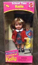 Kayla School Time Adventures Kelly Lil Friends Mattel Barbie 1998 Nib