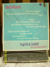 PREGNANCY MUST HAVE Ingrid & Isabel Bella Band  Maternity  0-8 Gray Size 1 Bump