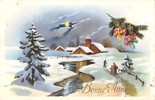BT13006 Bonne anne happy new year greetings holiday christmas