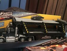 Fast and Furious Diecast Mega Diesel Hauler 14 Cars  Carry & 3 6 F&F Playsets.