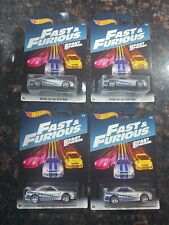 Hot Wheels 2017 Fast & the Furious LOT of 4x NISSAN SKYLINE GT-R (R34) # 2/8