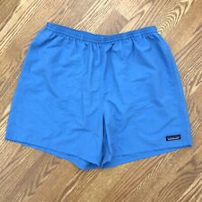 PATAGONIA Blue Swim Trunks Shorts Mens LARGE surf bathing suit