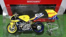 Véhicules miniatures jaunes Ducati 1:12