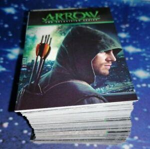 Cryptozoic: Arrow Season 1 Trading Cards Complete 95 Card Base Set