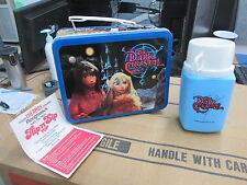 Vintage Metal 1982 The Dark Crystal Lunchbox w/ Flip N Sip Thermos & Insert