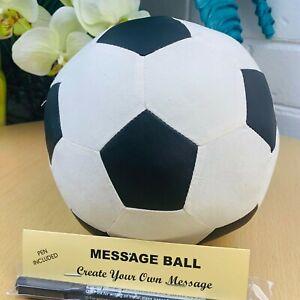 18Cm Congratulation Graduation Soccer With Pen Signature Message Wish Guestbook