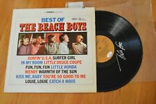 Best Of The Beach Boys ~ Mike Love Autographed LP ~ James Spence COA