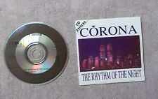 "CD AUDIO MUSIQUE / CORONA ""THE RHYTHM OF THE NIGHT"" 2T CDS 1994 CARDSLEEVE"