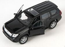 Blitz envío Toyota Land Cruiser Prado Negro Welly modelo auto 1:34 nuevo embalaje original