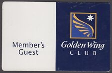 ANSETT AIRLINES MEMBERS GUEST GOLDEN WINGS CLUB PASS (JD6182)