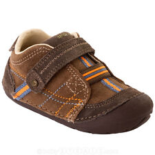Boys  Brown Heath StrideRite Non-Tie Shoes Infant Boys Size 3 1/2 W