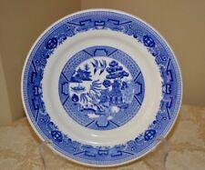 Buffalo China by Oneida Blue Willow Plate USA 711A