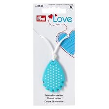 PRYM LOVE THREAD CUTTER PENDANT NEEDLE - TEAR DROP PENDANT - TRAVEL SEWING