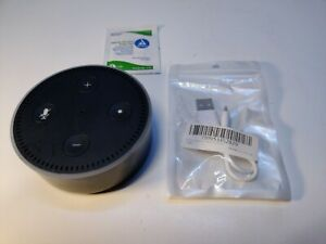 Amazon Echo Dot 2nd Gen Smart Speaker Alexa RS03QR +Charge Cable.
