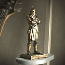 Elder Scrolls Skyrim Hold Guard Statue Aged Bronze Stylization