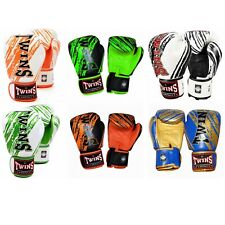 Twins Special FBGV-TW2 Sporting Train Fight Leather MMA Muay Thai Boxing Gloves