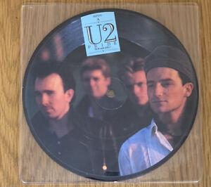 U2 / Pride / 7 Inch Vinyl / Picture Disc / Rare / Bono / ISP 202 / Rock / EX /