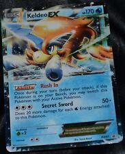 Holo Foil Keldeo EX # BW61 Black & White Star Promo Set Pokemon Trading Cards HP