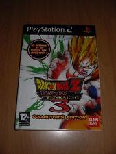 Jeu vidéo Sony PS2 playstation 2 DBZ DRAGON BALL Z BUDOKAI TENKAICHI 3 COLLECTOR