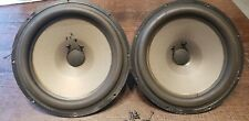 "(1) One Single Vintage Dynaco SEAS 25TV-EW 10"" Woofer W/ Scews &  Wires Tested"