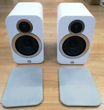 Q Acoustics 3020i Home Audio Bookshelf Speakers (Pair) Arctic White OPEN-BOX#