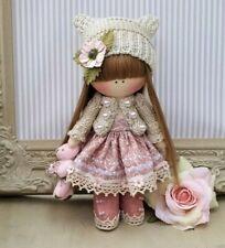 Handmade Rag Doll Hand made in UK Tilda doll Ooak doll JESSIE 8 inch tall
