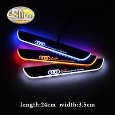 Sncn LED Rear Door Sill Scuff Plate for Audi A3 2014-2015