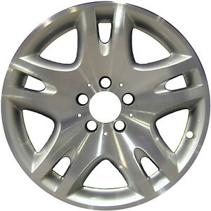 OEM Reconditioned 17X8.5 Alloy Wheel Bright Silver Full Face Painted 560-65297