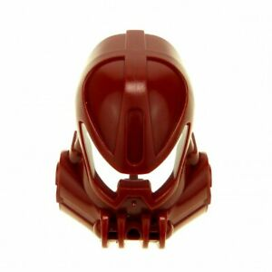 1 X LEGO Bionicle Figurine Head Mask Dark Red Kanohi Mask Huna (Toa Metru) Vak