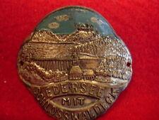Edersee mit Schloss Waldeck Used badge stocknagel hiking medallion G3647