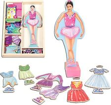 Melissa & Doug Magnetic Ballerina Dress Up  (NEW) 465