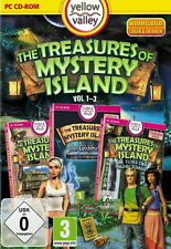 The Treasures Of Mystery Island 1-3 (PC, 2013, DVD-Box)