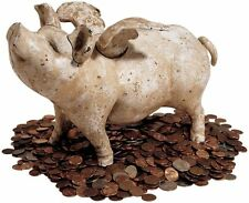 Piggy Bank When Pigs Fly Foundry Iron Bank Large