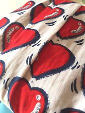 SASS & BIDE LOVE HEART COTTON DRESS size 42 12 SPIRIT OF HOPE new with tags