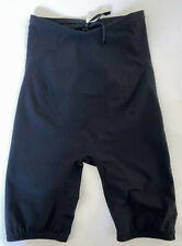 TYR Men's 30 Black AP12 Swim Shorts Racer Jammers Tri Compression USA Made New