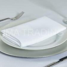 WHITE SQUARE TABLECLOTH POLYESTER TABLE CLOTH VARIOUS SIZES WHITE TABLECLOTH