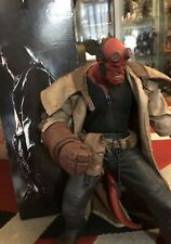 "MEZCO SERIES 1 HELLBOY MOVIE 18"" ACTION FIGURE"