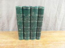 H. TAINE / HISTOIRE DE LA LITTERATURE ANGLAISE / HACHETTE 1863-1864 4 volumes EO