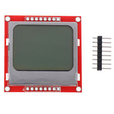 1Pc New 5110 LCD Module Red Backlight Adapter PCB For Nokia 5110 LCD US