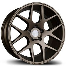 17X8/9 Avid.1 AV30 5x114.3 +35/30 Bronze Rims Fits Lexus is250 is300 S2000